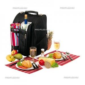 Рюкзак для пикника с пледом