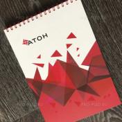 Дизайн для Атон