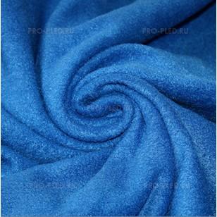 Флисовый плед синий