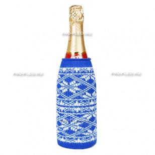 Чехол вязаный на бутылку