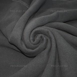 Плед флисовый серый