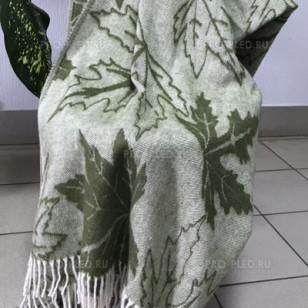Плед полушерстяной Кленовый лист