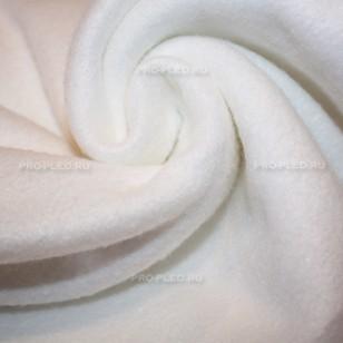 Плед флисовый белый