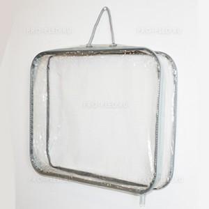 Прозрачная упаковка для шерстяного пледа