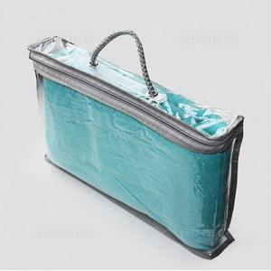 Прозрачная упаковка для флисового пледа
